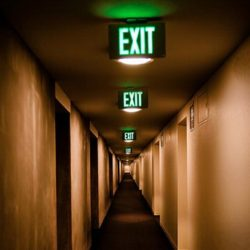 no way out st louis exit signs